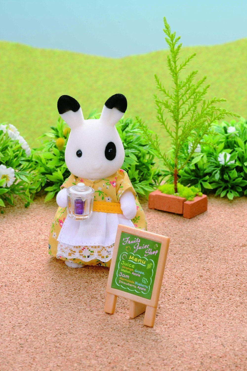 Buy sylvanian families juice bar and figure set - Sylvanian families cuisine ...