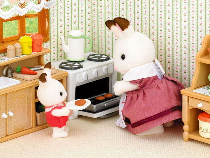 Buy sylvanian families country kitchen set for Katalog kitchen set