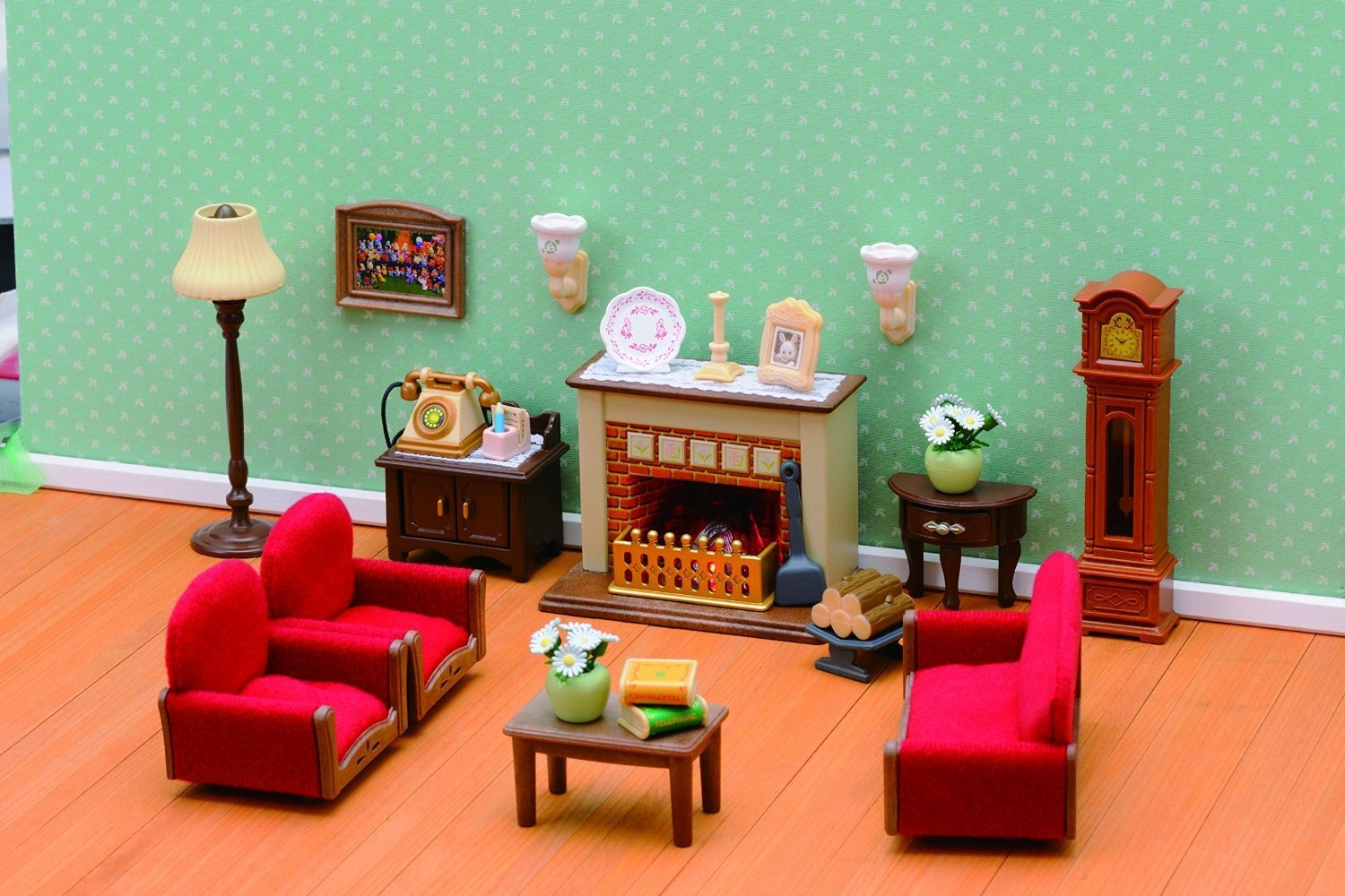 buy sylvanian families luxury living room set