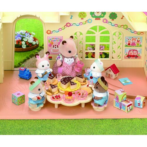 Sylvanian Families - Nursery Party Set