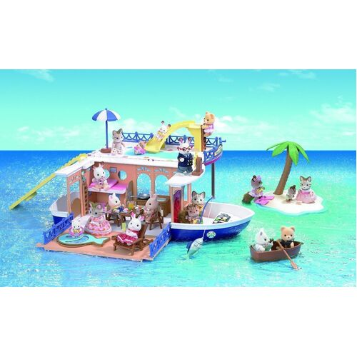 Sylvanian Families - Seaside Cruiser Houseboat